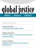 Global Justice Journal Cover